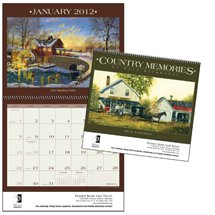 Art Calendars, Country Memories  - 12 Month