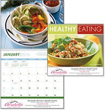 Recipe Calendars, Healthy Eating - 12 Month
