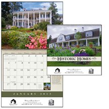 Scenic Calendars, Historical American Homes - 12 Month