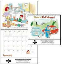 Illustrated Calendars, Never A Dull Moment - 12 Month