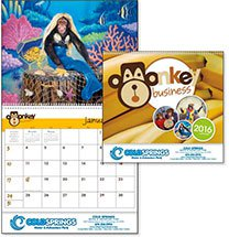 Monkey Business Calendars - 12 Month