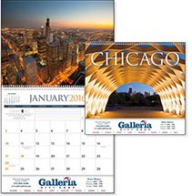 Scenic Calendars, Chicago - 12 Month
