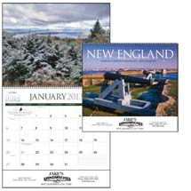 Scenic Calendars, New England - 12 Month