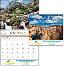 Scenic Calendars, Rocky Mountains - 12 Month