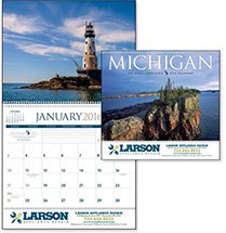 Scenic Calendars, Michigan - 12 Month