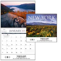 Scenic Calendars, New York - 12 Month