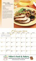 Dining Delights - 13 Month Calendars
