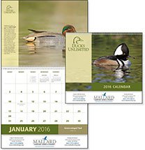 Ducks Unlimited Wildlife Calendars - 12 Month