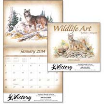 Wildlife Calendars, Wildlife Art by Dale Thompson - 12 Month