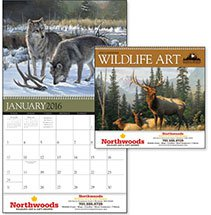 Wildlife Calendars, Wildlife Art by the Hautman Brothers - 12 Month