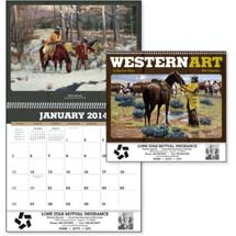 Western Calendars, Western Art by Roy Lee Ward - 12 Month