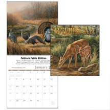 "Wildlife Calendars, Wildlife Art - 12"" Every Month Imprint"