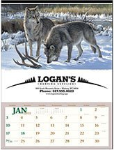 Wildlife Calendars, Wildlife Art by the Hautman Brothers - Executive 12  Sheet