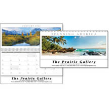 Panoramic Calendars, Spanning America - 12 Sheet