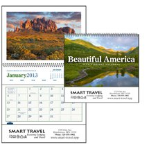 Scenic Calendars, Beautiful America Pocket