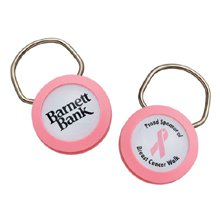 Breast Cancer Awareness Pink Keyring
