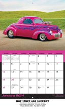 Hot Rods - 13 Month Calendars