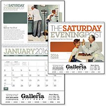 The Saturday Evening Post Illustrations Pocket Calendar