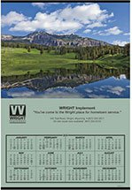 Road Map Calendars, Jumbo Span-A-Year Hanger