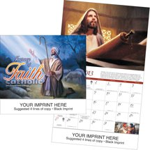 Religious Calendars, Journey of Faith - Catholic, 13 Month