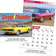 Classic Car Calendars, Street Thunder, 13 Month