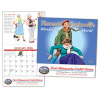 Mini Calendars, Norman Rockwell, 13 Month