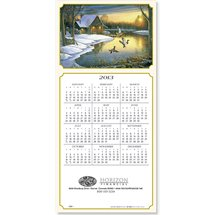 Calendar Cards, Backwater Mallards