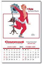 Pinup Calendars, Hilda, Executive - 6 Sheet, Union Made