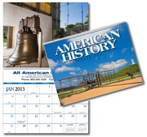 Patriotic Calendars, Great Symbols of American History - 12 Month
