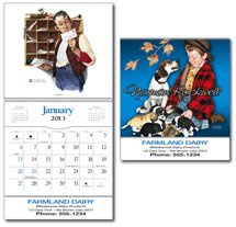 Norman Rockwell Calendars,  Pocket Calendar - 12 Month