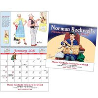 Norman Rockwell Calendars, Special Market - 12 Month