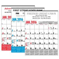 Business Calendars, Yearly Record, Union Printed