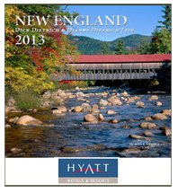 Travel Calendars, New England, 12 Month