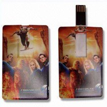 1 GB Full Color Credit Card USB Flash Drives