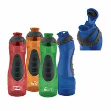 BPA Free Sport Water Bottles, Long-N-Lean, Easy Grip, 28 oz.