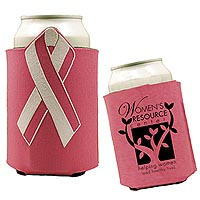 Breast Cancer Awareness Ribbon Can Holders