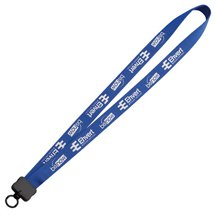 "Lanyards, 3/4"" Woven Nylon, O-Ring Attachment"