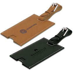 Tuscany Faux Leather Luggage Tags