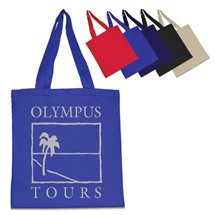 "15"" x 15.5"" Brand Gear™ Canvas Tote Bags"