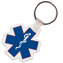 Key Chains, Caduceus Shaped