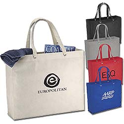 Reusable Shopping Bags, Oak Totes, 19 x 15-1/2