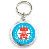 Circular Acrylic Key Tags