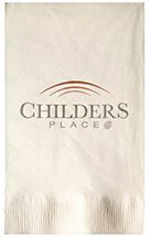 Recycled Dinner Napkins, High Quantity, Vanilla 2-Ply
