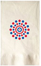 Recycled Dinner Napkins, Vanilla 2-Ply