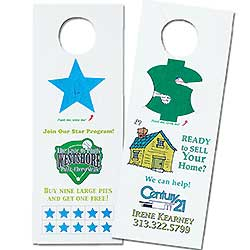 Door Hangers, Seed Infused Pop-Out