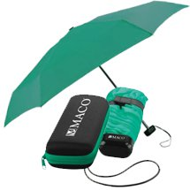 "Folding Umbrellas, Deluxe Umbrella with Matching Case, 37"" Arc"