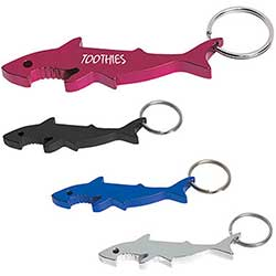 Bottle Opener Key Chains, Shark Bottle Opener