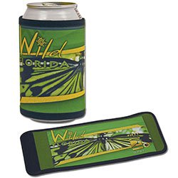 Beverage Holders, Full Color Process Imprint, Velcro Closure