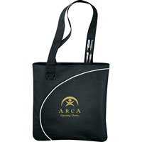 144 Custom Tote Bags, Lunar Convention Tote, 15 x 15