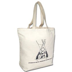Organic Cotton Bags, 100% Certified Eco Sac, 19 x 16
